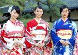 (左から)剛力彩芽、武井咲、忽那汐里 (C)ORICON NewS inc.