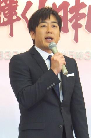 『第56回 輝く!日本レコード大賞』の総合司会を務める安住紳一郎アナウンサー