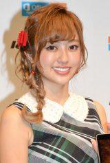 恋愛解禁も…「お仕事を頑張ります」と語った菊地亜美 (C)ORICON NewS inc.