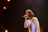 決勝戦で僅差で敗れた梅原怜子さん(19)は「GLAMOROUS SKY」と「渡良瀬橋」を歌い、ファンから歓声が上がった