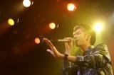 男性唯一のTOP5メンバー・堂本椋太さん(21)は「手紙」「涙そうそう」の2曲を丁寧に訴えかけるように歌い、観客を魅了した
