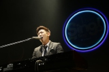 トップバッターを務めた坂口舜さん(26)は「When I was your man」をピアノ弾き語りで歌唱。「クリスマス当日、誕生日ライブやります」