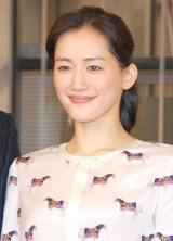 ドラマ『きょうは会社休みます。』制作発表会見に出席した主演の綾瀬はるか (C)ORICON NewS inc.