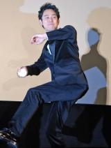 妻夫木聡らが観客にボールを投げるサービスも (C)ORICON NewS inc.