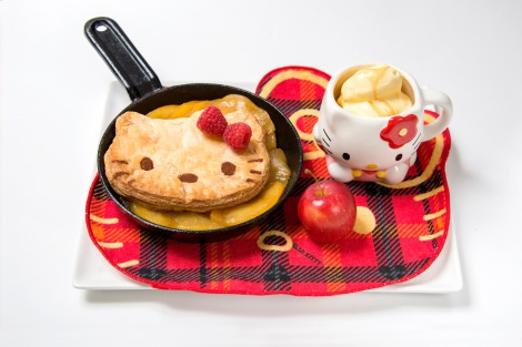 『ハローキティカフェ』(11/14〜12/25@THE GUEST cafe&dinner) (C)'76,'14 SANRIO CO.,LTD. APPROVAL NO.SP551132
