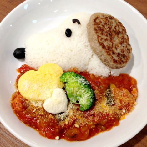 『スヌーピー × TOWER RECORDS CAFE』(11/17〜12/31@タワーレコード渋谷店) (C)2014 Peanuts Worldwide LLC www.snoopy.co.jp