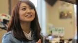 TRICITY「トリシティ、納車!」篇で公道走行を披露する大島優子