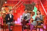 2015年1月11日・18日、ABC朝日放送の『なるみ・岡村の過ぎるTV』に明石家さんまがゲスト出演(C)ABC