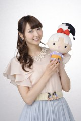 2015年大河ドラマ『花燃ゆ』の公式キャラクター・もゆるんの声を担当する戸松遥(C)NHK