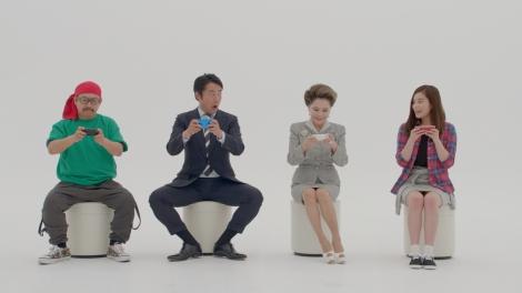 「LINE ゲットリッチ」新CM 「下克上」篇