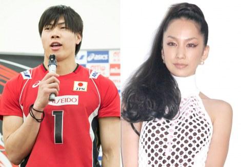 サムネイル バレー日本代表・清水邦広&中島美嘉夫妻
