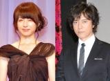 「ゴチになります!」レギュラーのクビが決定した(左から)平井理央&上川隆也 (C)ORICON NewS inc.