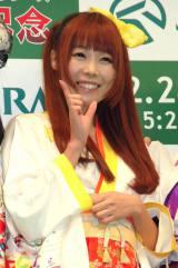 『有馬記念』開催直前PRイベントに出席したでんぱ組.inc・成瀬瑛美 (C)ORICON NewS inc.