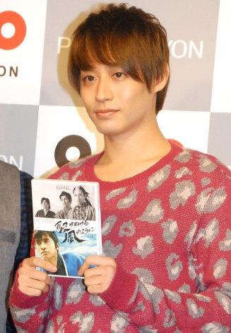 Dステ15th『駆けぬける風のように』DVD発売記念スペシャルトーク会を行ったD-BOYS・前山剛久 (C)ORICON NewS inc.