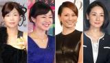 2014年はアラフォー女性が大活躍!(左から、大久保佳代子、NHK有働由美子アナウンサー、米倉涼子、吉田羊) (C)ORICON NewS inc.