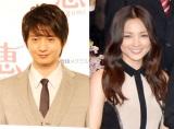 12月28日に入籍していたことが明らかになった(左から)向井理&国仲涼子 (C)ORICON NewS inc.