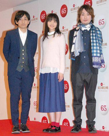 『第65回NHK紅白歌合戦』の初日リハーサルに参加したいきものがかり(C)ORICON NewS inc.
