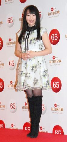 『第65回NHK紅白歌合戦』の初日リハーサルに出席した水樹奈々 (C)ORICON NewS inc.