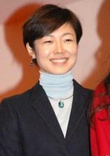 『第65回紅白歌合戦』初日リハーサルを行った有働由美子