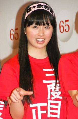 『第65回紅白歌合戦』初日リハーサルに参加したももいろクローバーZ・佐々木彩夏 (C)ORICON NewS inc.