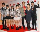 Dream5&キング・クリームソーダ=『第65回NHK紅白歌合戦』の初日リハーサル (C)ORICON NewS inc.