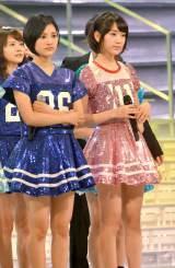 『第65回紅白歌合戦』のリハーサルを行ったHKT48(左から)兒玉遥、宮脇咲良 (C)ORICON NewS inc.