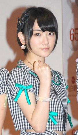 『第65回NHK紅白歌合戦』の初日リハーサルに参加したAKB48・生駒里奈 (C)ORICON NewS inc.