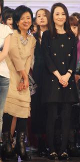 『第65回NHK紅白歌合戦』リハーサルに参加した(左から)薬師丸ひろ子&松田聖子 (C)ORICON NewS inc.