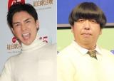 大ファンの郷ひろみ(左)のステージに乱入したバナナマン・日村勇紀 (C)ORICON NewS inc.