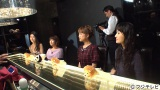 1日放送のフジテレビ系『オスカフェ』に出演する(左から)橋本マナミ、矢口真里、鈴木奈々、市川紗椰