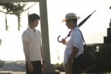 1月4日放送、MBS・TBS系『新春ドラマ特別企画 わが家』父子を演じた(左から)長塚京三、向井理(C)MBS