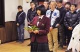 広瀬すずが真剣な面持ちで祈願(C)日本テレビ