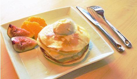 サムネイル 塩麹が甘さを引き立てる「ふわふわパンケーキ」