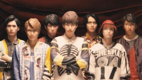 ポーズや衣装も精巧に作られた関ジャニ∞の3Dフィギュア
