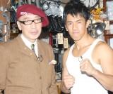 (左から)テリー伊藤、武井壮 (C)ORICON NewS inc.