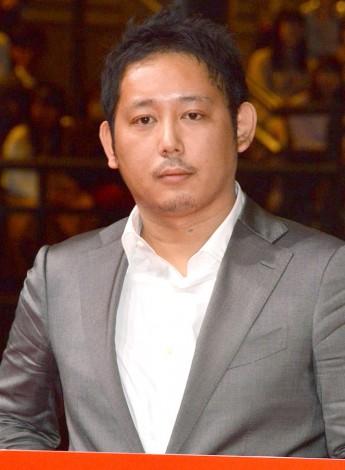映画『JOKER GAME』完成披露舞台あいさつに出席した入江悠監督 (C)ORICON NewS inc.