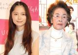作家・宮尾登美子さん(右)の訃報にコメントを発表した宮崎あおい(左) (C)ORICON NewS inc.
