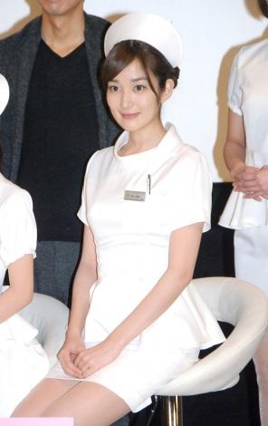 TBS系ドラマ『まっしろ』制作発表会見に出席した高梨臨 (C)ORICON NewS inc.