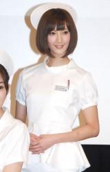 TBS系ドラマ『まっしろ』制作発表会見に出席した菜々緒 (C)ORICON NewS inc.