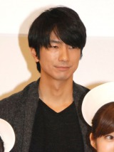 TBS系ドラマ『まっしろ』制作発表会見に出席した眞島秀和 (C)ORICON NewS inc.