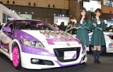 『乃木坂navi×Autobacs in TOKYO AUTOSALON2015』に出席した乃木坂46(左から)白石麻衣、橋本奈々未 (C)ORICON NewS inc.
