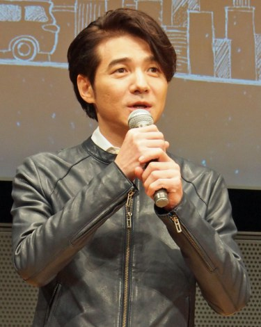 TBS系ドラマ『流星ワゴン』完成披露特別試写会に出席した吉岡秀隆 (C)ORICON NewS inc.
