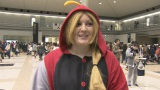 コスプレを楽しむ米国女性にインタビュー(C)NHK