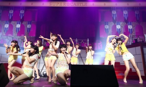 「SUPER☆GiRLS LIVE 2015」(2015年1月10日、TOKYO DOME CITY HALL)