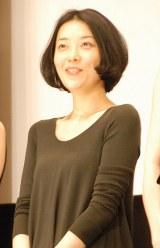 映画『深夜食堂』完成披露イベントに出席した小林麻子 (C)ORICON NewS inc.