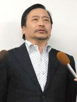 石井光三さん訃報を受け、会見を行ったラサール石井 (C)ORICON NewS inc.