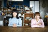 チャットモンチーが女性サポート2人を加えた新曲詳細を発表(左から橋本絵莉子、福岡晃子)