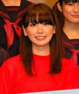 映画『くちびるに歌を』(2月18日公開)完成披露舞台あいさつに出席した新垣結衣 (C)ORICON NewS inc.