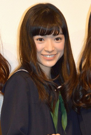 映画『でーれーガールズ』完成披露舞台あいさつに出席したW主演の優希美青 (C)ORICON NewS inc.