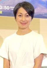 TBS系特番『地球の鼓動 火山』制作発表会見に出席した鶴田真由 (C)ORICON NewS inc.
